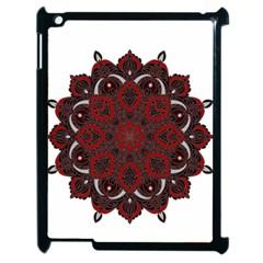 Ornate mandala Apple iPad 2 Case (Black)