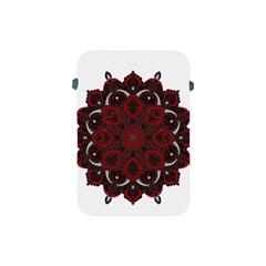 Ornate mandala Apple iPad Mini Protective Soft Cases