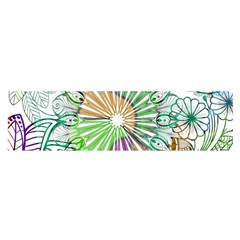 Zentangle Mix 1116c Satin Scarf (Oblong)