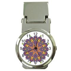 Ornate mandala Money Clip Watches