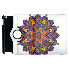 Ornate mandala Apple iPad 2 Flip 360 Case