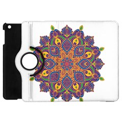 Ornate mandala Apple iPad Mini Flip 360 Case