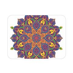Ornate mandala Double Sided Flano Blanket (Mini)