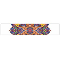 Ornate mandala Flano Scarf (Large)