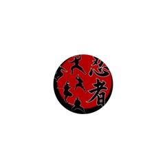Ninja 1  Mini Magnets