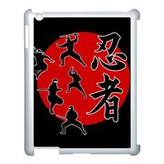 Ninja Apple iPad 3/4 Case (White)