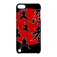 Ninja Apple iPod Touch 5 Hardshell Case with Stand