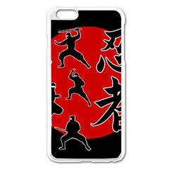 Ninja Apple iPhone 6 Plus/6S Plus Enamel White Case