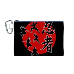 Ninja Canvas Cosmetic Bag (M)