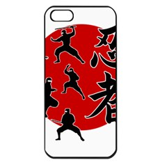Ninja Apple iPhone 5 Seamless Case (Black)