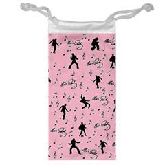 Elvis Presley  pink pattern Jewelry Bag