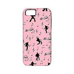 Elvis Presley  pink pattern Apple iPhone 5 Classic Hardshell Case (PC+Silicone)