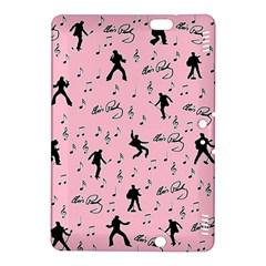 Elvis Presley  pink pattern Kindle Fire HDX 8.9  Hardshell Case