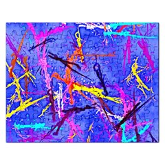 Paint splashes                       Jigsaw Puzzle (Rectangular)