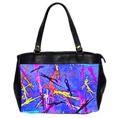 Paint splashes                       Oversize Office Handbag (2 Sides)