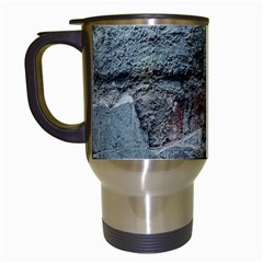 Concrete wall                        Travel Mug (White)