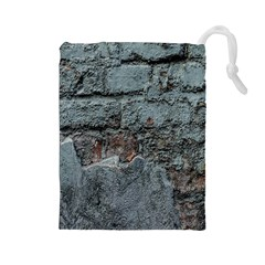 Concrete wall                        Drawstring Pouch