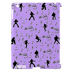 Elvis Presley  pattern Apple iPad 3/4 Hardshell Case (Compatible with Smart Cover)