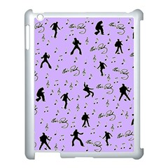 Elvis Presley  pattern Apple iPad 3/4 Case (White)