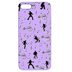 Elvis Presley  Pattern Apple Iphone 5 Hardshell Case With Stand