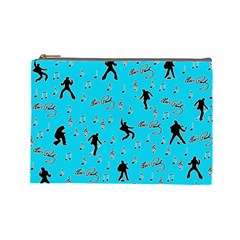 Elvis Presley  pattern Cosmetic Bag (Large)