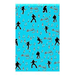 Elvis Presley  pattern Shower Curtain 48  x 72  (Small)