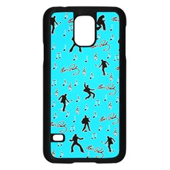 Elvis Presley  pattern Samsung Galaxy S5 Case (Black)
