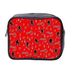 Elvis Presley  pattern Mini Toiletries Bag 2-Side