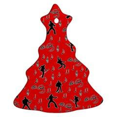 Elvis Presley  pattern Ornament (Christmas Tree)