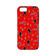Elvis Presley  pattern Apple iPhone 5 Classic Hardshell Case (PC+Silicone)