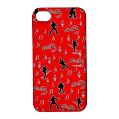 Elvis Presley  pattern Apple iPhone 4/4S Hardshell Case with Stand