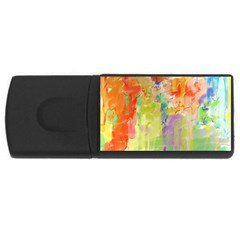 Paint texture                        USB Flash Drive Rectangular (2 GB)