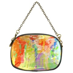 Paint texture                   Chain Purse (Two Sides)