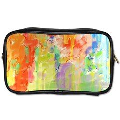 Paint texture                        Toiletries Bag (Two Sides)