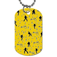 Elvis Presley  pattern Dog Tag (One Side)