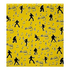 Elvis Presley  pattern Shower Curtain 66  x 72  (Large)