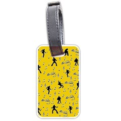 Elvis Presley  pattern Luggage Tags (Two Sides)