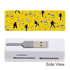 Elvis Presley  pattern Memory Card Reader (Stick)