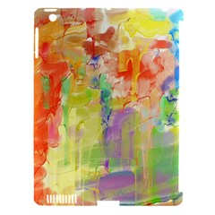 Paint texture                  Apple iPad 3/4 Hardshell Case (Compatible with Smart Cover)