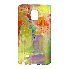 Paint texture                  Samsung Galaxy Note 4 Leather Folio