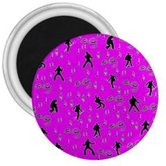 Elvis Presley  pattern 3  Magnets