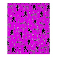 Elvis Presley  pattern Shower Curtain 60  x 72  (Medium)