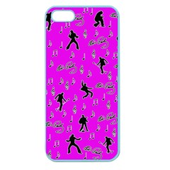 Elvis Presley  pattern Apple Seamless iPhone 5 Case (Color)