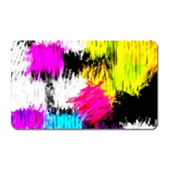 Colorful Blurry Paint Strokes                         Magnet (rectangular)