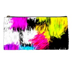 Colorful Blurry Paint Strokes                   Pencil Case