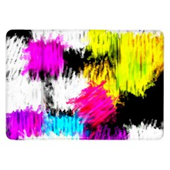 Colorful blurry paint strokes                   Samsung Galaxy Tab 10.1  P7500 Flip Case