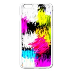 Colorful blurry paint strokes                   Apple iPhone 6/6S Leather Folio Case