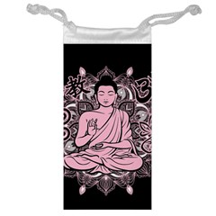 Ornate Buddha Jewelry Bag