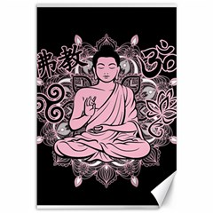 Ornate Buddha Canvas 12  x 18