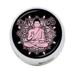 Ornate Buddha 4-Port USB Hub (Two Sides)